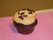with Perfect Peanut Butter Buttercream topped with Mini Chocolate Chips