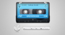 HTML5 Audio Player Plugin for Website – Old School Cassette – So Cool