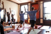 Aerial Fitness Hot Yoga - Long Island Website I worked on