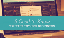 3 Good Twitter Tips for Beginners, Web Designers & Social Media Marketers