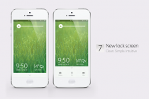 Latest Apple iOS 7 Concept Brings Forth A Clean New Flat Interface, Dashboard Widgets And More