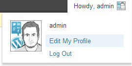 WordPress: Hide Edit Profile Link
